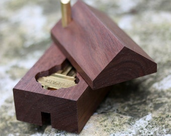 Cohab key box -  first home / shack up / home sweet home / housewarming / realtor / new home / realty