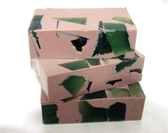 Caveman - Handmade Natural Glycerin Soap (lots of lather, aromatic,original, great gift soap, Stardust Soaps)