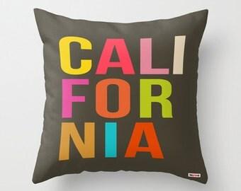 California Decorative pillow cover -  Chicago pillow cover - Los Angeles pillow case - Stockholm pillow - Florida Pillow