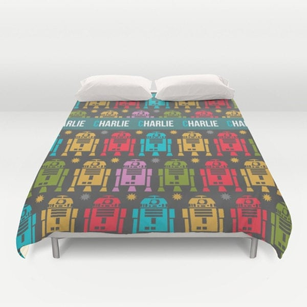 Star Wars Duvet Cover Customized duvet cover R2D2 bedding