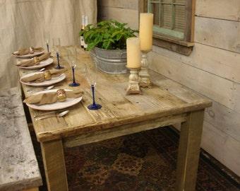 """Driftwood Table (72""""L x 34""""W x 30""""H)"""