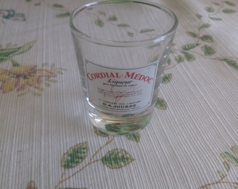 Vintage Cordial Medoc Liqueur Shot Glass