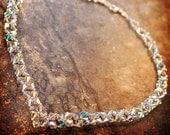 Beading Tutorial Video: Crystal V Necklace