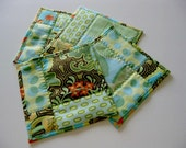 Reserved for Karen - Fabric Coasters / Mug Rugs / Amy Butler / Versatile Many Uses