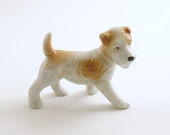 Vintage Miniature Terrier Dog Figurine