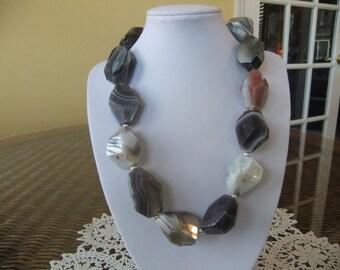 Beautiful Quartz Beaded Necklace