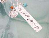 Inspiration Necklace - Enjoy the Journey