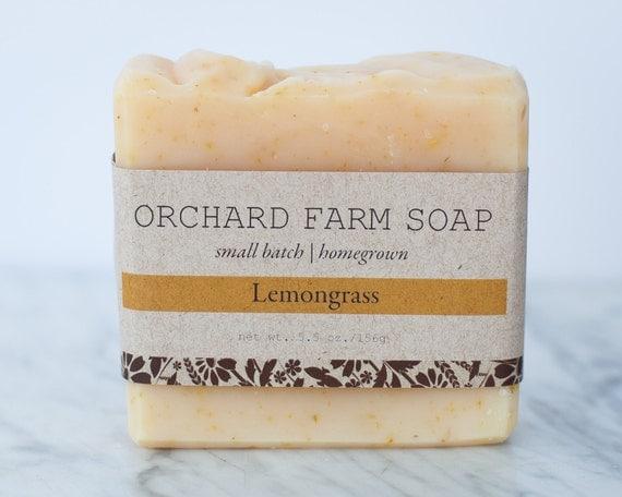 Lemongrass// Calendula// Natural Soap// Sensitive Skin// Gentle