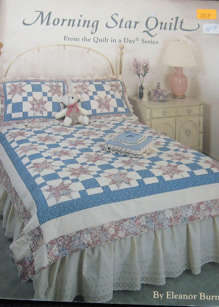 Morning Star Quilt Pattern Book Eleanor Burns By Thehowlinghag