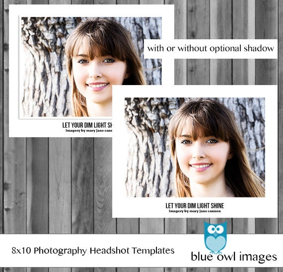 Instant download photoshop layered customizable photography instant download photoshop layered customizable photography headshot head shot professional template 8x10 and 10x8 portrait landscape psd pronofoot35fo Choice Image