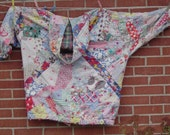 Vintage 1930's  Quilt Fall Jacket