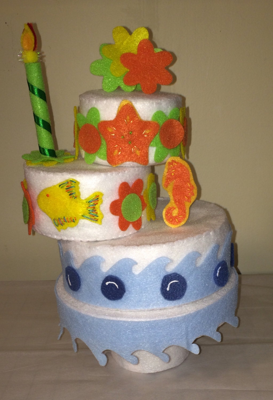 Felt Food Toys R Us : Ocean theme felt toy cake cakesfelt food sweets