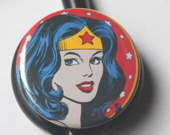 Wonder Woman----Stethoscope ID Tag