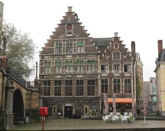 11x14 print Ghent, Belgium
