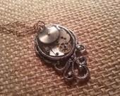 Squid sprocket necklace