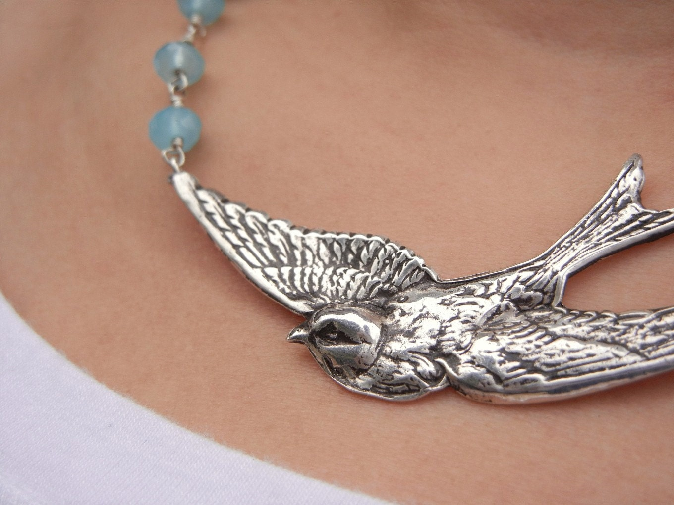 bird jewelry bird jewelry bird necklace sterling silver split 404