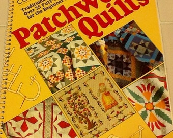 Quilt Pattern Instructural Book  Quilt Blocks, Fabric Quilting