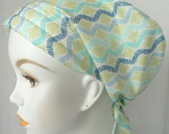 Chevron Cancer Chemo Cotton Hat Scarf Cap Head Wrap Alopecia Turban Bad Hair Day
