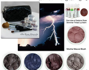 Thunder and lightning never looked so beautiful before.  Get the look kit for fabulously stormy eyes.