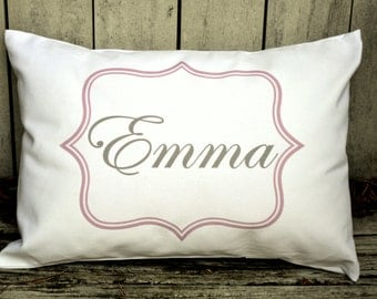 Personalized baby pillow baby girl gift newborn gift girls personalized baby pillow girls baby gift boys baby gift nursery gift newborn negle