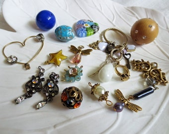 Lot of Assorted Beads & Destash