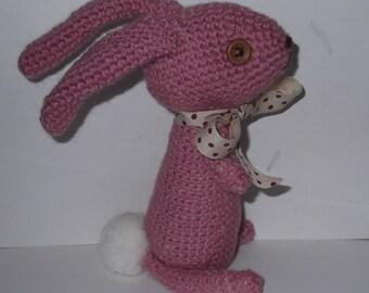 Crochet Pink Rabbit