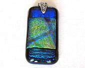 Dichroic Glass Pendant, F...