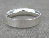 Sterling Silver Comfort Fit Ring