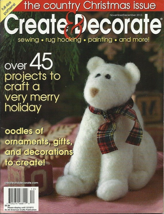 Create and decorate magazine for Create and decorate magazine free