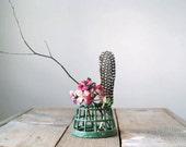Vintage Flower Frog, Garden Supply, Flower Arranging, Spring Decor, Home and Living, Industrial