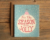 Tis the Season Illustrated Card