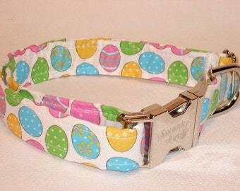 Easter Egg Print Collar by Swanky Pet