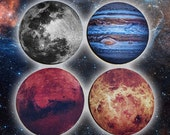 Astro Coaster Set (for Earthly Drinks)