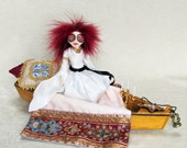 The Lady of Shalott - Fantasy Pre-Raphaelite Art Doll