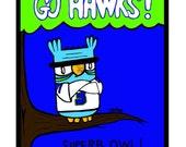 12thman Owl print