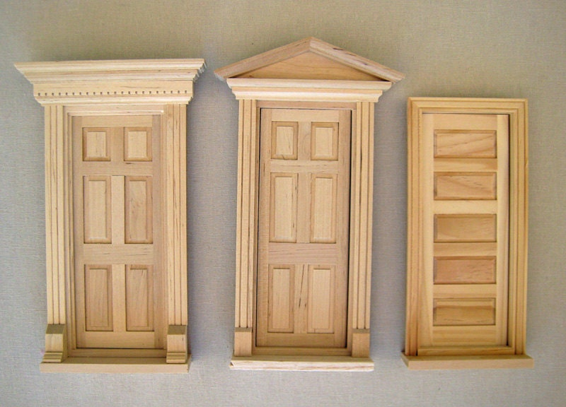 Diy kit fairy door unfinished by tadaastudio on etsy for Unfinished fairy door