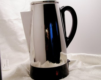 Vintage Percolator Coffee Pot by West Bend