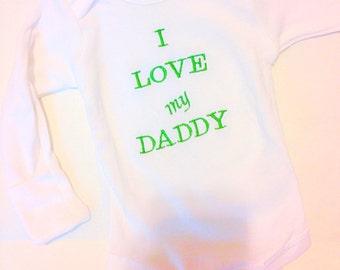 Onesie, baby onesie, embroidered onesie, personalized onesie, boys onesie, dad's gift, Father's Day gift, monogrammed onesie, fathers gift