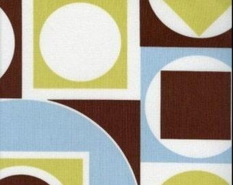 Maxfield Retro Geometric Alexander Henry Cotton Quilt Fabric 1.5 Yards~Last1s