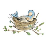 THE NESTLING -- Wall Decal