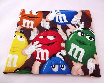 M&M Reusable Snack Bag