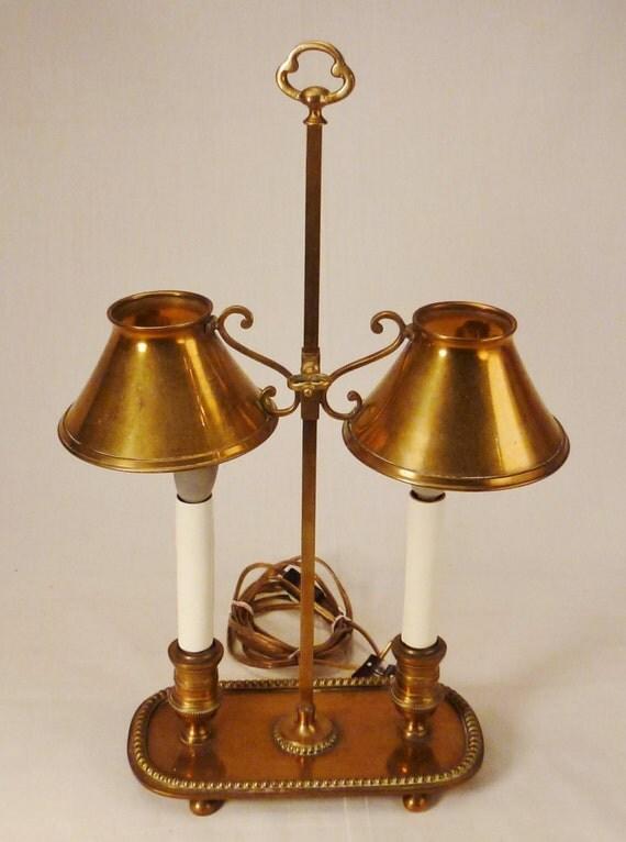 lampe de table tole de lampe bouillotte laiton metal works ou. Black Bedroom Furniture Sets. Home Design Ideas