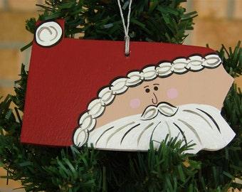 Pennsylvania Santa Ornament