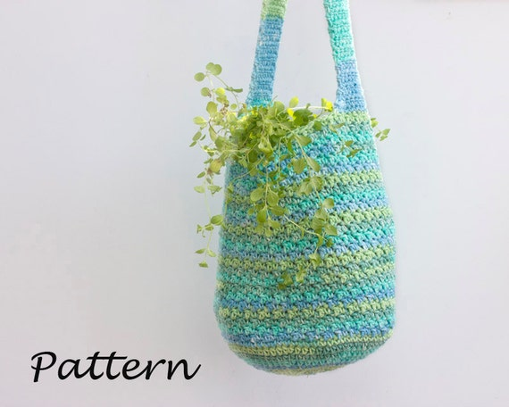 Crochet Simple Bag : Tote Bag Crochet Pattern, Easy Pattern, Slouchy Bag Pattern, Market ...