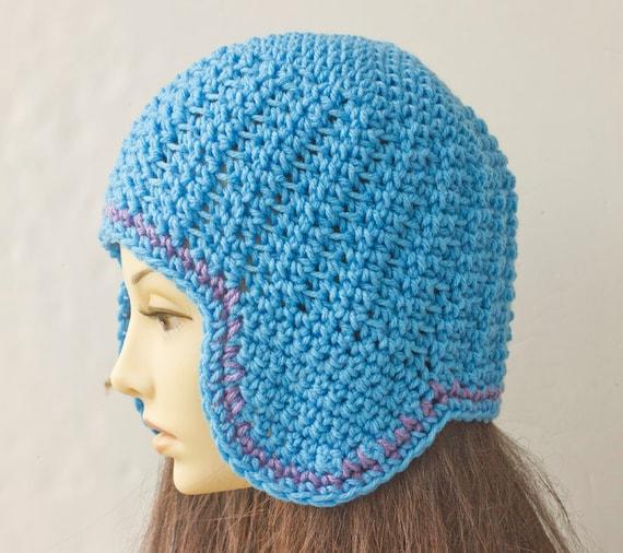 Ear Flap Hat Crochet Pattern Instant Download Hat PDF
