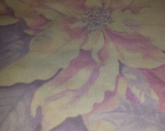 Wilmington Prints Winter Flowers cotton fabric 1 yd