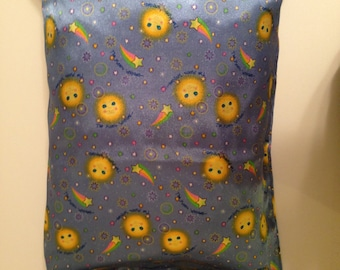 Moons and Stars Satin Child or Travel Pillowcase
