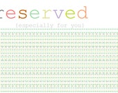 RESERVED FOR Kayla