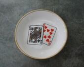 Playing Cards - Royal Worcester Trinket Dish