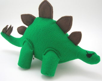 Stegosaurus Pirate Dinosaur Plush Toy
